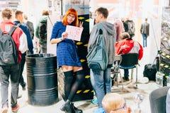 KYIV, ΟΥΚΡΑΝΊΑ - 9 ΣΕΠΤΕΜΒΡΊΟΥ 2018: Γενική φωτογραφία σε κωμικό Con UK στοκ φωτογραφίες με δικαίωμα ελεύθερης χρήσης