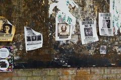 KYIV, ΟΥΚΡΑΝΊΑ - 9 ΣΕΠΤΕΜΒΡΊΟΥ 2018: Επιθυμητές ο Harry Potter αφίσες α στοκ φωτογραφία με δικαίωμα ελεύθερης χρήσης