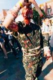 KYIV, ΟΥΚΡΑΝΊΑ - 9 ΣΕΠΤΕΜΒΡΊΟΥ 2018: ΚΥΝΗΓΌΣ cosplayer που θέτει στο Γ στοκ εικόνα με δικαίωμα ελεύθερης χρήσης