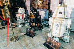 KYIV, ΟΥΚΡΑΝΊΑ - 9 ΣΕΠΤΕΜΒΡΊΟΥ 2018: Τέχνη του Star Wars σε κωμικό Con στοκ εικόνα με δικαίωμα ελεύθερης χρήσης