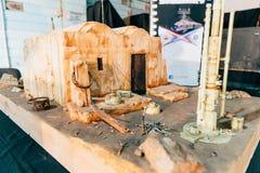 KYIV, ΟΥΚΡΑΝΊΑ - 9 ΣΕΠΤΕΜΒΡΊΟΥ 2018: Τέχνη του Star Wars σε κωμικό Con στοκ φωτογραφίες με δικαίωμα ελεύθερης χρήσης