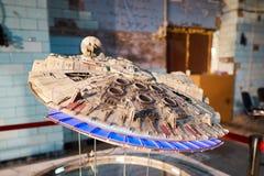 KYIV, ΟΥΚΡΑΝΊΑ - 9 ΣΕΠΤΕΜΒΡΊΟΥ 2018: Τέχνη του Star Wars σε κωμικό Con στοκ φωτογραφία με δικαίωμα ελεύθερης χρήσης