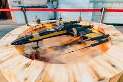 KYIV, ΟΥΚΡΑΝΊΑ - 9 ΣΕΠΤΕΜΒΡΊΟΥ 2018: Τέχνη του Star Wars σε κωμικό Con στοκ φωτογραφία