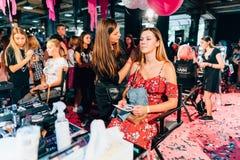 KYIV, ΟΥΚΡΑΝΊΑ - 9 ΣΕΠΤΕΜΒΡΊΟΥ 2018: Makeup σε κωμικό Con Ουκρανία γ στοκ εικόνες με δικαίωμα ελεύθερης χρήσης