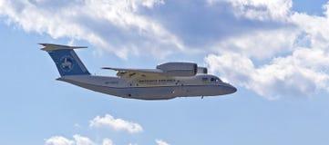 KYIV, ΟΥΚΡΑΝΊΑ - ΣΤΙΣ 29 ΣΕΠΤΕΜΒΡΊΟΥ: Αεροσκάφη μεταφορών Antonov ένας-74Ñ Στοκ φωτογραφία με δικαίωμα ελεύθερης χρήσης