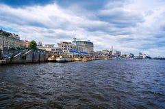 Kyiv Σταθμός τρένου ποταμών Στοκ φωτογραφία με δικαίωμα ελεύθερης χρήσης