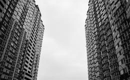Kyiv, Украин строя максимум многоквартирный дом зодчество самомоднейшее стоковое изображение rf