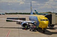 Kyiv Airport Boryspil Stock Photo