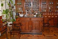 Kyiv apteki muzeum fotografia royalty free