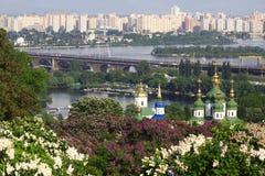 Kyiv Botanic Garden in spring Royalty Free Stock Photography