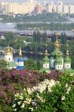 Kyiv Botanic Garden in spring Stock Photos