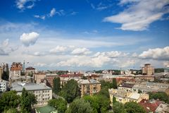 Kyiv center cityscape Royalty Free Stock Image