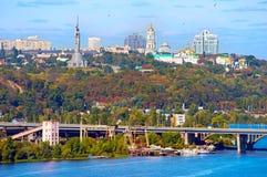 Kyiv cityscape, Ukraine Stock Photography