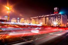 KYIV, DE OEKRAÏNE - DECEMBER 18, 2015: Onafhankelijkheidsvierkant - het centrale vierkant van Kyiv Royalty-vrije Stock Afbeeldingen