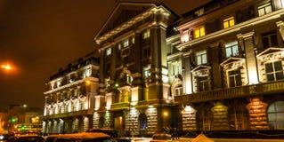 Kyiv, de Oekraïne, die stad gelijk maken de 20ste Eeuwarchitectuur royalty-vrije stock foto