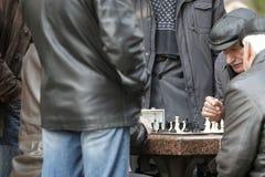 KYIV, de OEKRAÏNE - 18 Oktober 2015: Het Shevchenko-Park is de populairste plaats in Kiev Royalty-vrije Stock Afbeeldingen