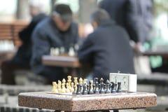 KYIV, de OEKRAÏNE - 18 Oktober 2015: Het Shevchenko-Park is de populairste plaats in Kiev Royalty-vrije Stock Afbeelding