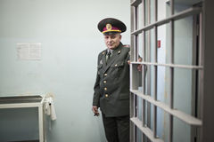 Kyiv detention facility Royalty Free Stock Images