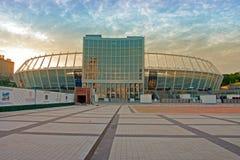 Kyiv el estadio Olímpico foto de archivo