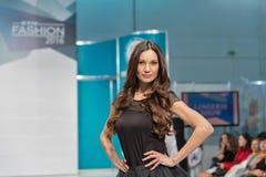 Kyiv Fashion 2016 festival of vogue in Kiev, Ukraine Royalty Free Stock Photo