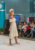 Kyiv Fashion 2016 festival of vogue in Kiev, Ukraine Royalty Free Stock Images