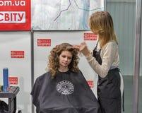 Kyiv Fashion 2016 festival of vogue in Kiev, Ukraine Royalty Free Stock Photos