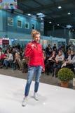 Kyiv Fashion 2016 festival of vogue in Kiev, Ukraine royalty free stock photography