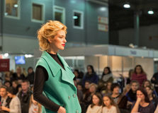 Kyiv Fashion 2016 festival of vogue in Kiev, Ukraine stock photos