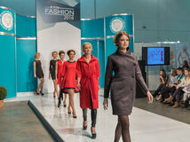 Kyiv Fashion 2016 festival of vogue in Kiev, Ukraine Stock Photography