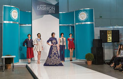 Kyiv Fashion 2016 festival of vogue in Kiev, Ukraine Royalty Free Stock Image