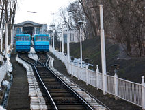 The Kyiv funicular Royalty Free Stock Photos