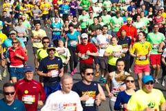 Kyiv half marathon Royalty Free Stock Images
