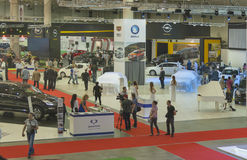 Kyiv International Motor Show 2013 Stock Images