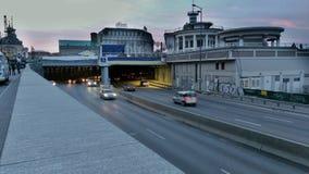 Kyiv invallningMotorway Royaltyfri Foto