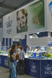 Kyiv Jewelry Factory booth during Spring Jeweller  Royalty Free Stock Photo