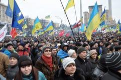 Kyiv Maidan革命Advantages_116 库存照片