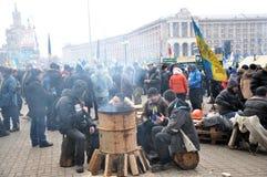 Kyiv Maidan革命Advantages_141 库存图片