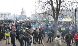 Kyiv Maidan革命Advantages_144 免版税图库摄影