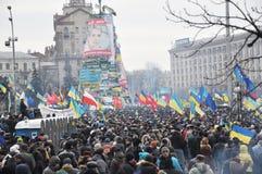 Kyiv Maidan革命Advantages_146 免版税库存照片