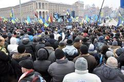 Kyiv Maidan革命Advantages_156 库存照片