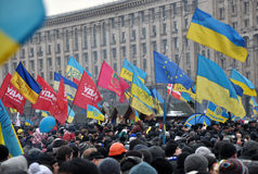 Kyiv Maidan革命Advantages_158 库存图片