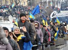 Kyiv Maidan革命Advantages_161 免版税库存照片