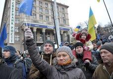 Kyiv Maidan革命Advantages_162 库存图片