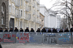 Kyiv Maidan revolution Advantages_52 Royaltyfri Bild