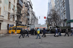 Kyiv Maidan revolution Advantages_60 Arkivfoton