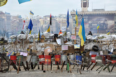 Kyiv Maidan Revolution Advantages_62 Royalty Free Stock Image