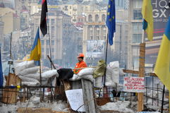 Kyiv Maidan Revolution Advantages_64 Royalty Free Stock Photo