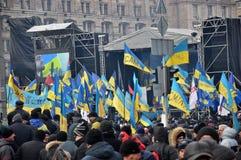 Kyiv Maidan Revolution Advantages_88 Stock Image