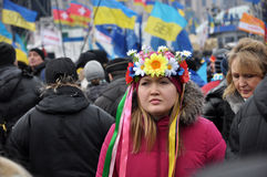 Kyiv Maidan Revolution Advantages_92 Royalty Free Stock Photography