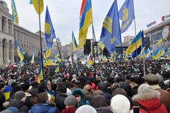 Kyiv Maidan Revolution Advantages_102 Royalty Free Stock Photos